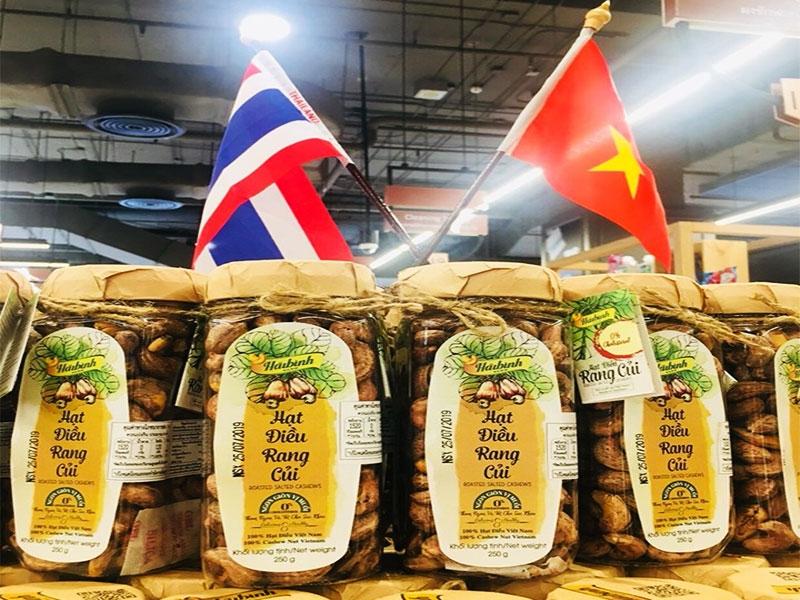 Thực phẩm Việt lách cửa hẹp vào Thái Lan có thực sự hiệu quả?