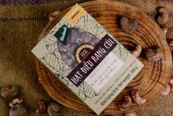Hộp quà tặng hạt điều rang củi loại đặc biệt 500 g